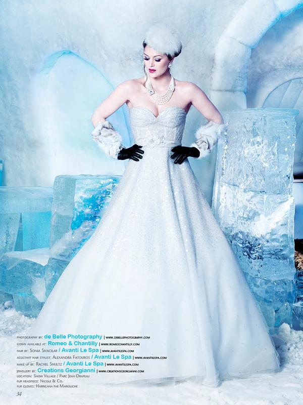 Elegant Wedding Magazine 2013 De Belle Photography Montreal Wedding Photography Montreal