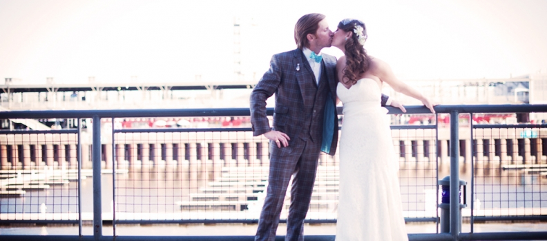 VIRGIN RADIO &#038; LES GRANDS SALONS MARIONS-NOUS <br /> 2014 ULTIMATE WEDDING WINNERS <br />EVA &#038; DANIEL