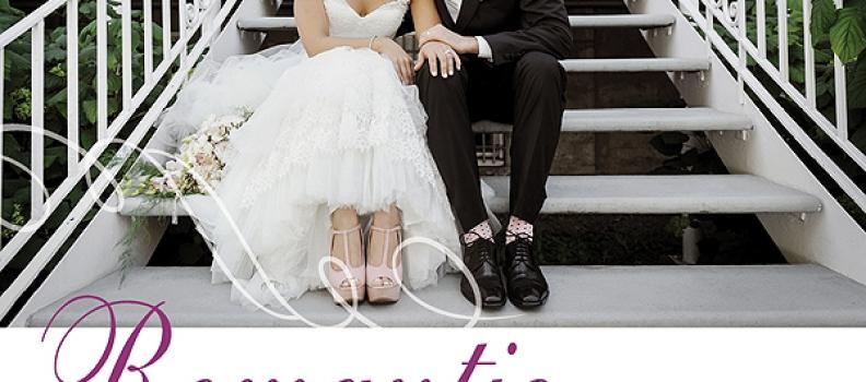 A Real Wedding Feature in Elegant Wedding Magazine