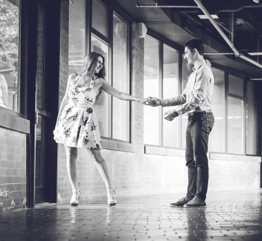 Rachel & Carmine – Throwback casual session
